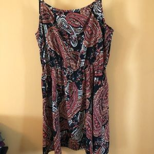 Forever 21 Dresses - Black and pink paisley dress